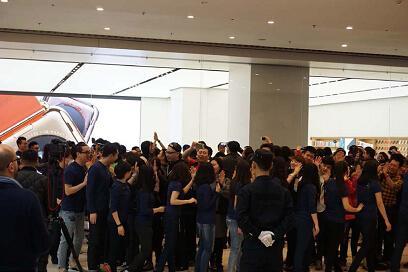 恒隆地产与Apple扩大合作 标志长远合作关系