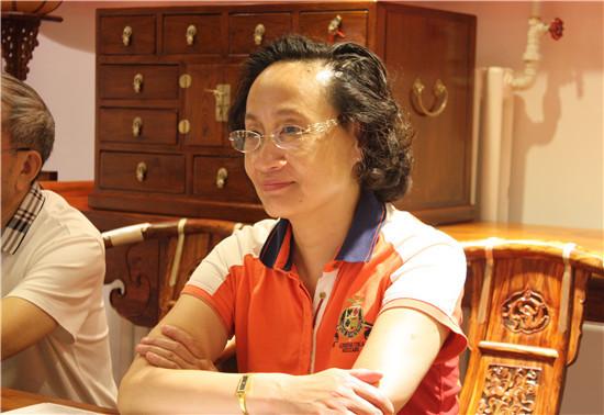 中国家具协会秘书长张冰冰