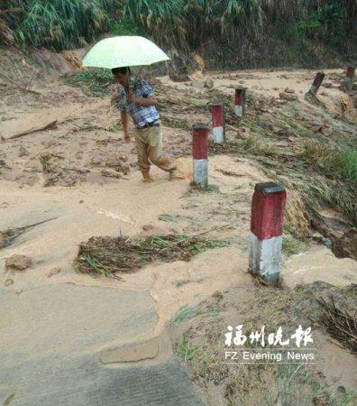 永泰62岁村支书抗洪殉职 转移群众被泥石流冲走