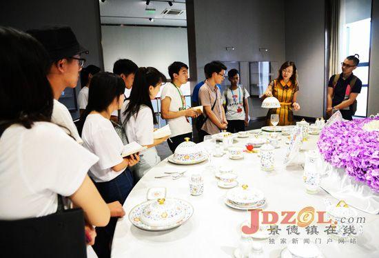 景德镇陶瓷大学:赴山东淄博调研陶瓷企业