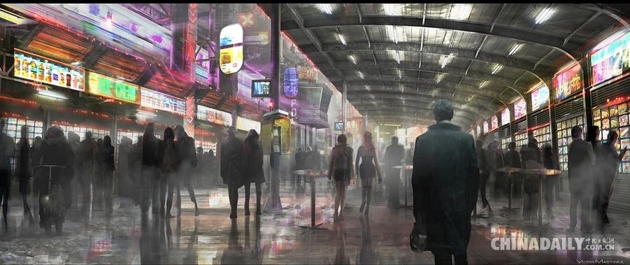 《银翼杀手》最新续作明年10月北美上映 场景概念图震撼发布