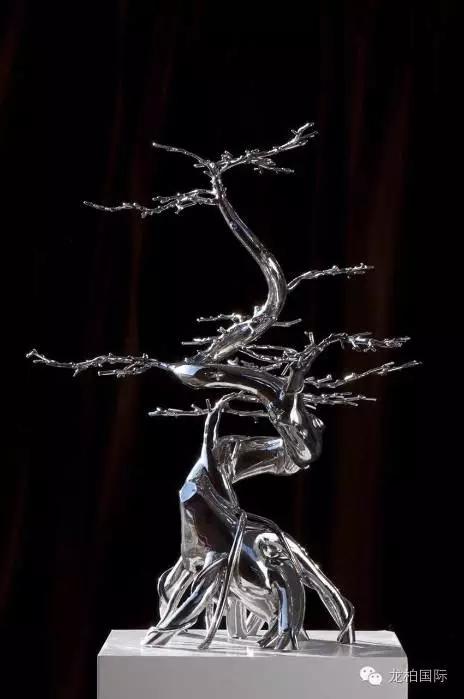 杨韬参展作品《我的盆景・16号》