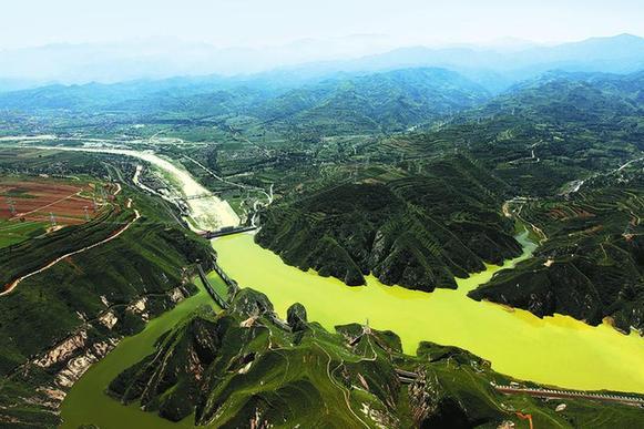 宝鸡峡源上工程通水45年 打造出陕西第一大粮仓
