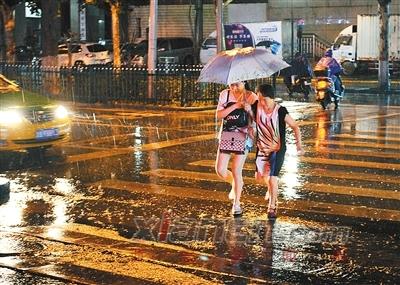 西安迎来强降水 市气象局启动暴雨三级应急响应